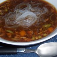 Čínská kuřecí polévka recept