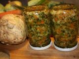 Polévková zelenina na zimu recept
