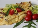 Škvarková omeleta recept