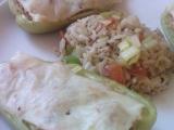 Zapečená paprika s rýží a tofu s mořskou řasou recept  TopRecepty ...