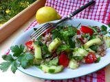 Letní pohankový salát recept