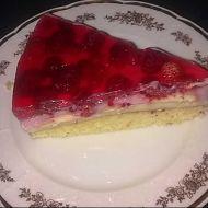 Pudinkový dort s ovocem recept
