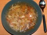 Slepičí polévka s chilli recept