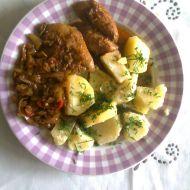 Pikantní kuřecí prsa se zeleninou recept
