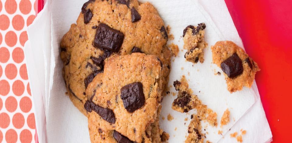 Sušenky s čokoládou