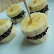 Banánovo-makové jednohubky recept