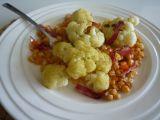 Květákový teplý salát recept
