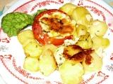 Zapečená rajčata s bramborami recept