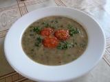 Čočková polévka s uzeninou recept