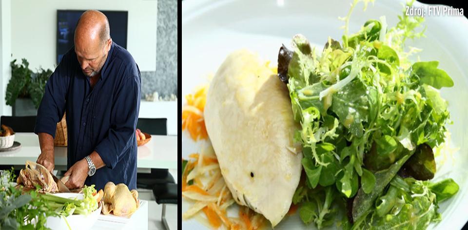 Kuřecí prsa s avokádem a camembertem