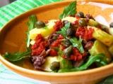 Bramborový salát s hovězím masem a rukolou recept