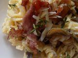 Těstoviny s restovanou hlívou ústřičnou recept