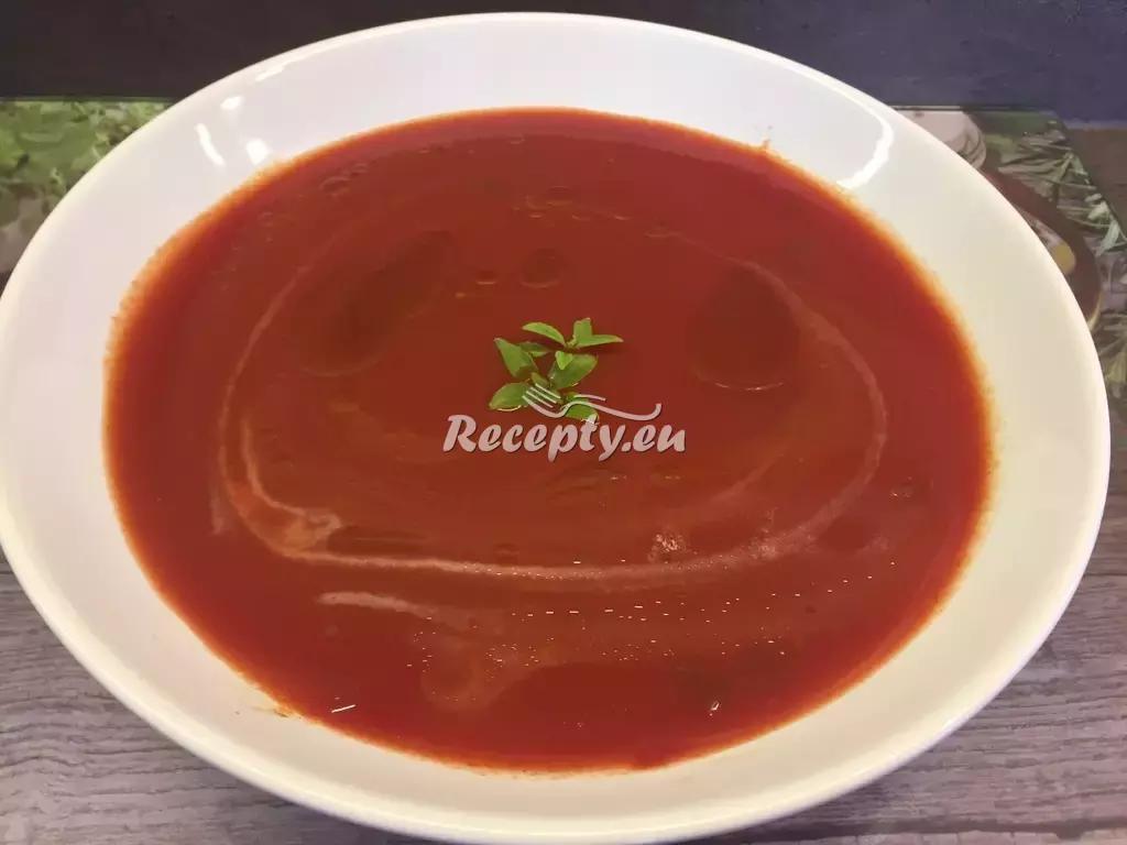 Polévka Pomodoro recept  polévky