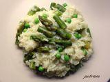 Jarní chřestovo-hráškové risotto recept