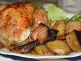 Máslová baby kuřátka s macerovaným rozmarýnem a vůní česneku ...