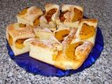 Ovocný koláč z tvarohového těsta recept