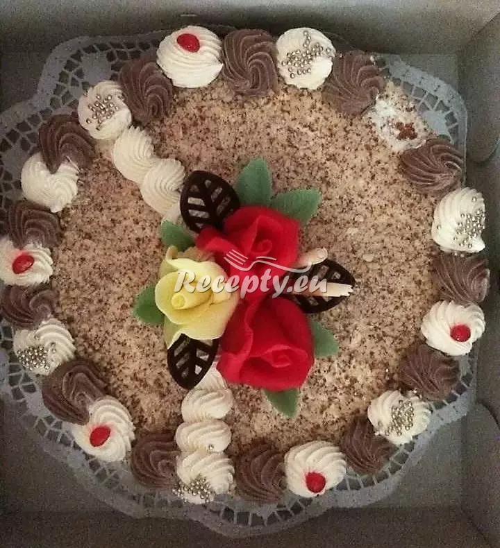 Karamelová dortová náplň recept  dorty