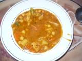 Zeleninový guláš s cizrnou recept