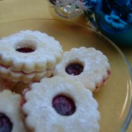 Linecké cukroví s vanilkou recept