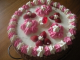 Jahodový dort se slaďoučkým krémem recept