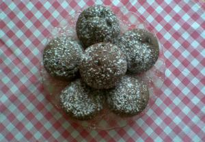 Luxusní muffiny s oříšky a čokoládou