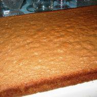 Lehký kakaový piškot recept