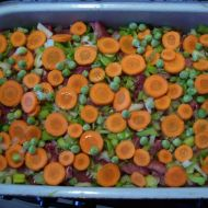 Vepřový plátek s mrkví recept