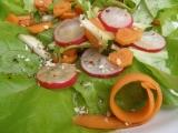 Salát s balsamicovou zálivkou recept