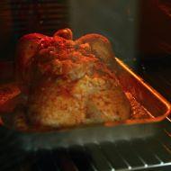 Pečené kuře s česnekem a brambory recept