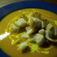 Dýňová polévka s krutony recept
