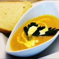 Krémová polévka z dýně Hokkaido recept