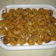 Škvarkové placky  caletky recept