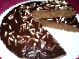 Čokoládovo  kokosový koláč recept