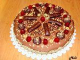 Zdravější ořechový dort s mascarpone, čokoládou a banány recept ...