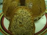Ořechová bábovka 2 s mákem recept