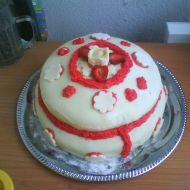 Marcipánový dort recept