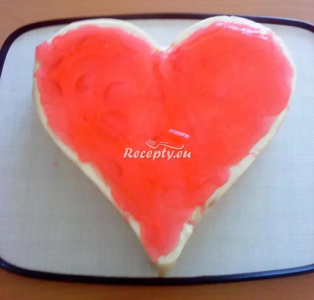 Valentýnské srdce z tvarohu recept  slavnostní pokrmy