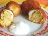 Smažená plněná vejce recept