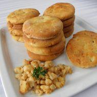 Pečené jemné škvarkové placky recept
