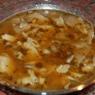 Falešná dršťková polévka z hlívy ústřičné recept
