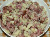 Halušky s uzeným masem a kysaným zelím recept