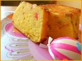 Tvarohový chlebíček s kandovaným ovocem recept