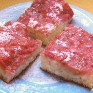 Snídaňový rebarborový koláč recept