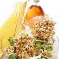 Jarní salát s výhonky recept