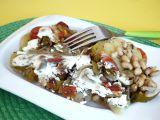 Sója zapečená s bramborami a zeleninou recept