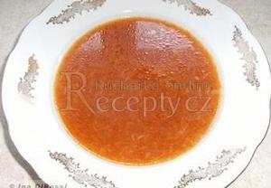 Jednoduchá rajská polévka