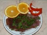 Grilované kotlety na pomerančích recept