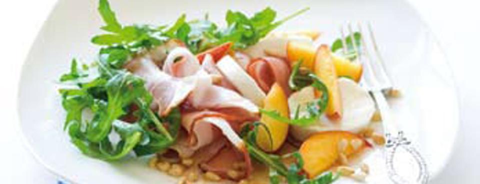 Rukolový salát s mozzarellou
