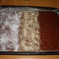 Kefírová buchta tří chutí recept