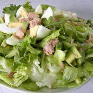 Ledový salát s tuňákem recept